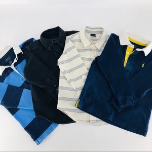 Polo Ralph Lauren and Gap boys shirts size 3T
